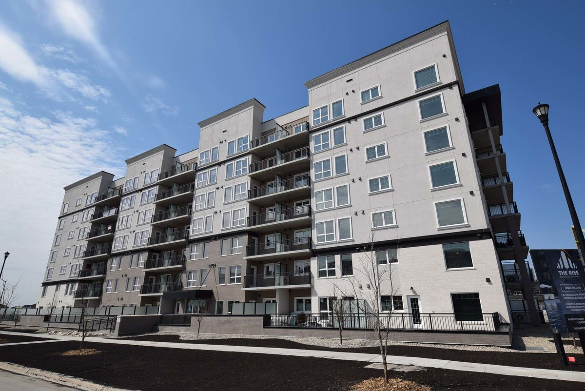 <p>Photos by Todd Lewys / Winnipeg Free Press</p><p>The Rise by Streetside Developments features concrete-and-steel construction and has condo suites ranging in size from 604 to 1,189 square feet.</p>