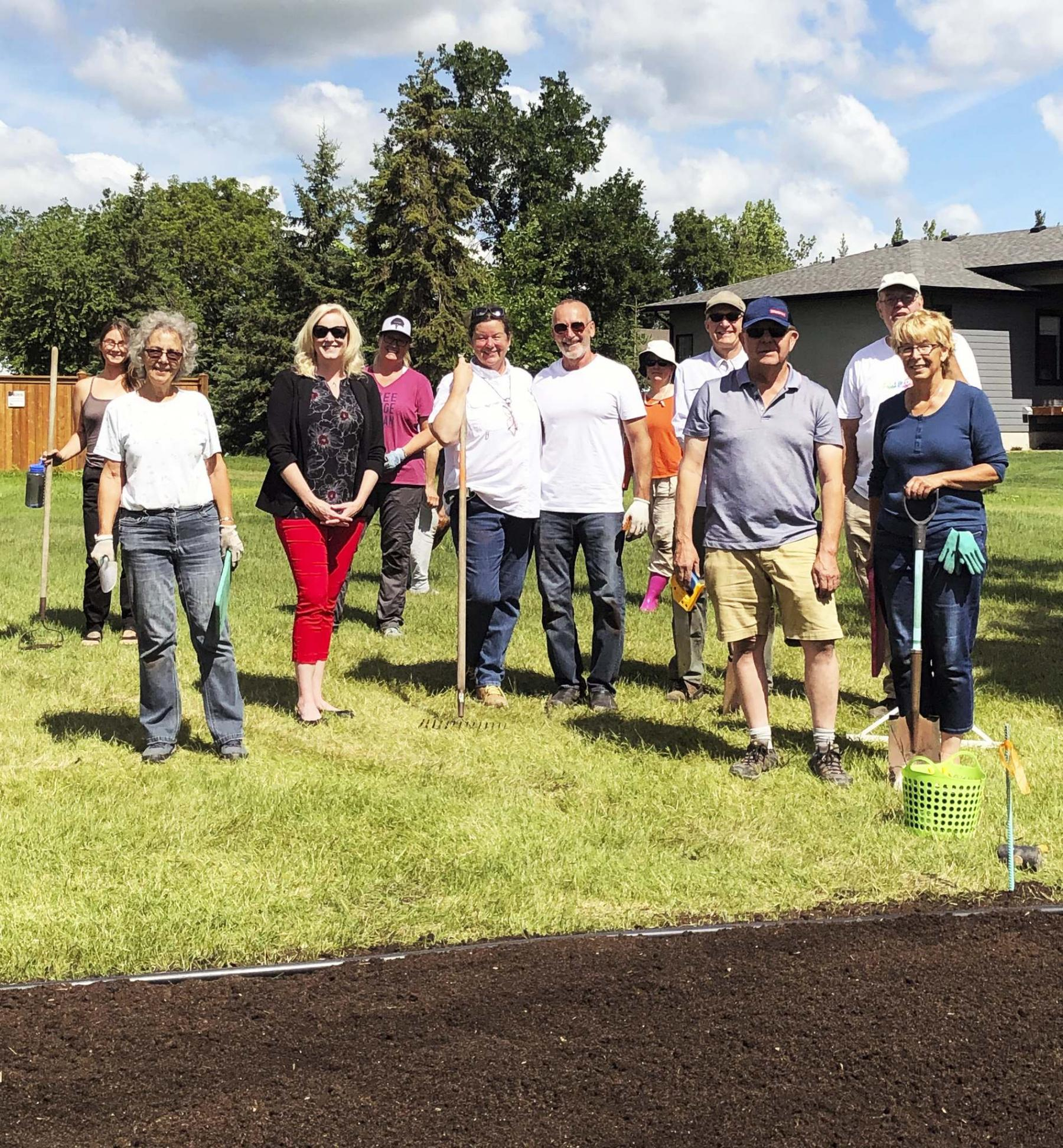 <p>Brent Olynyk</p><p>Members of Prairie Naturals Gardening Group dug in this summer to create a terrific demonstration garden in West St. Paul.</p>