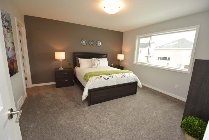 <p>Todd Lewys / Winnipeg Free Press</p><p>The master bedroom can fit a king size bed and also has a three-piece ensuite.</p>
