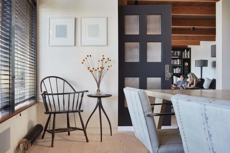 The Dining Room Upgrades Include Dinesen Douglas Fir Floors A Custom Designed Kitchen Table And Runtal Radiators