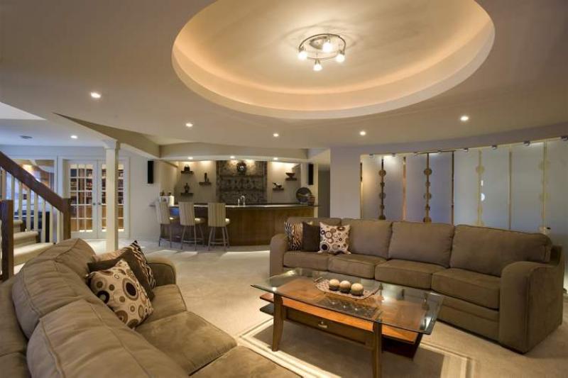 Basement Lighting Recessed Ceiling: RENOVATIONS: Basement Magic