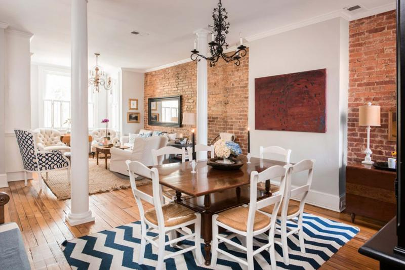 Mike Morgan Washington Post To Create The Illusion Of More Space Hoburgs Took Down Wall Between Living And Dining Rooms Added Columns