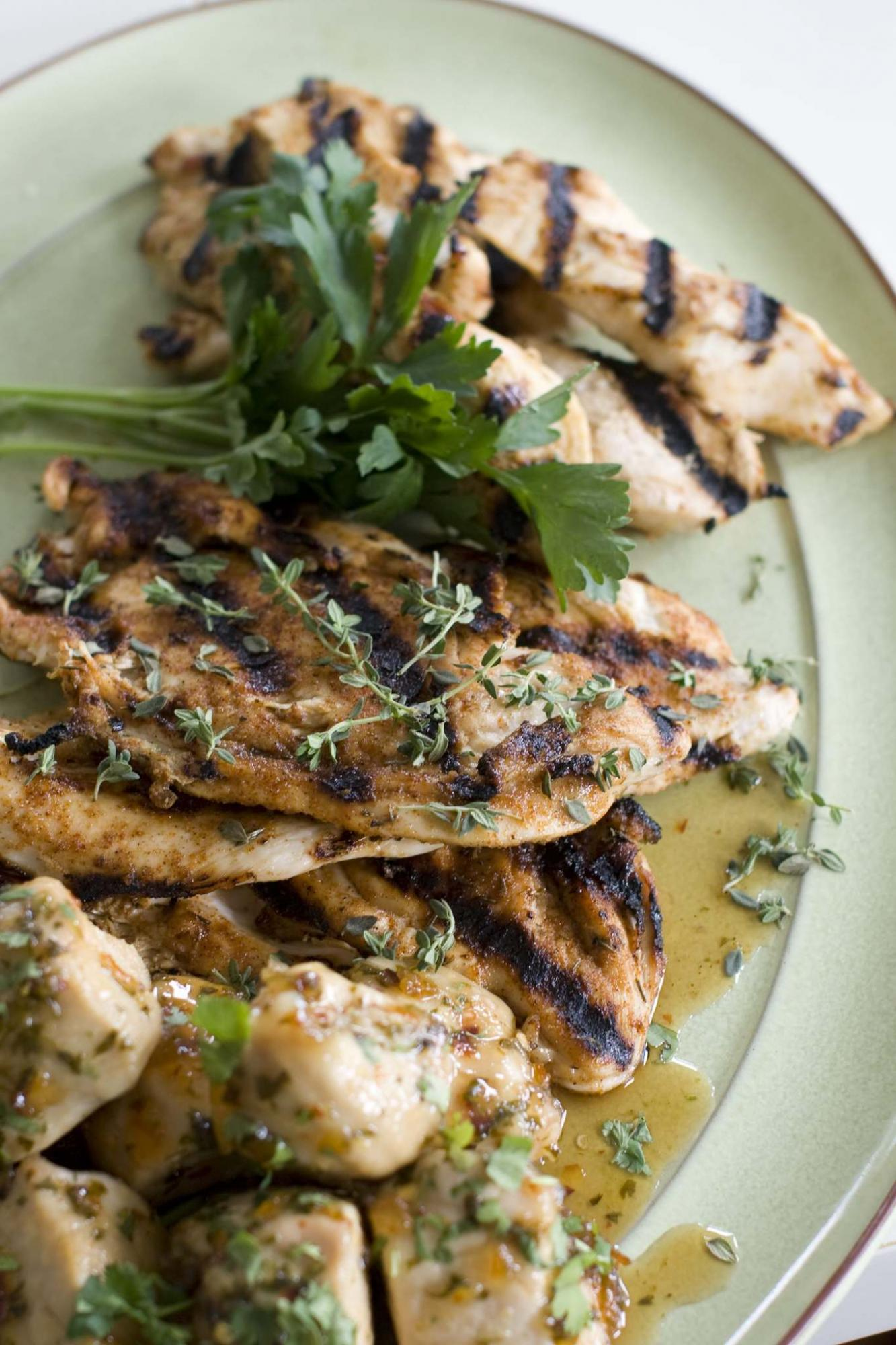 <p>Matthew Mead / The Associated Press files </p><p>Marinate chicken breasts in Italian salad dressing, salt and pepper to improve their taste.</p>