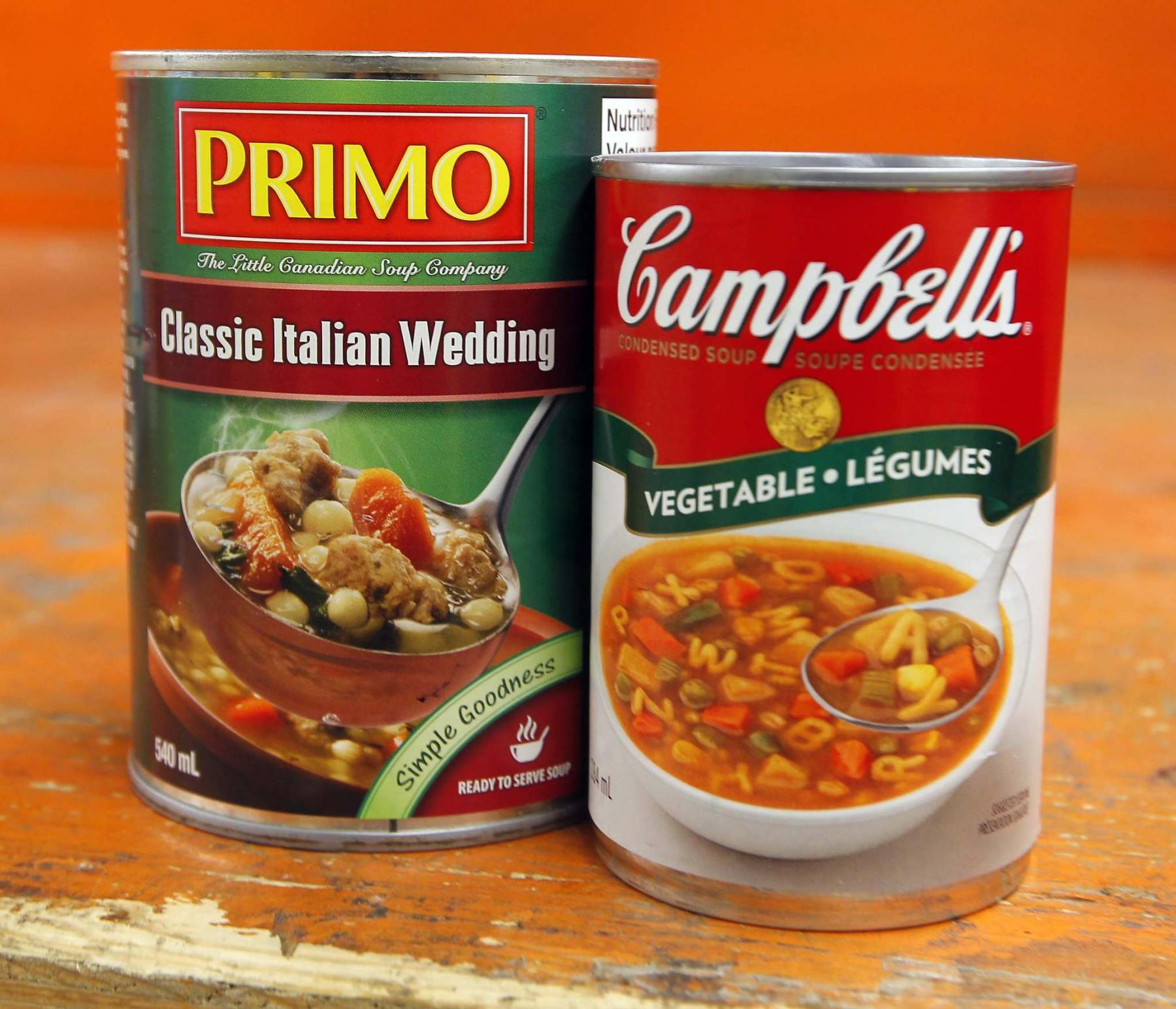 <p>BORIS MINKEVICH / WINNIPEG FREE PRESS</p><p>You can always add extra vegetables, pasta and even meat and cheese to your favourite canned soups for a special treat. </p>