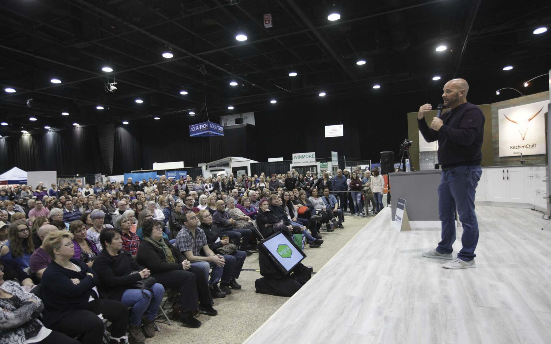 <p>RUTH BONNEVILLE / WINNIPEG FREE PRESS files</p><p>HGTV star Bryan Baeumler will be one of many special guest speakers at this year&rsquo;s Winnipeg Renovation Show.</p>