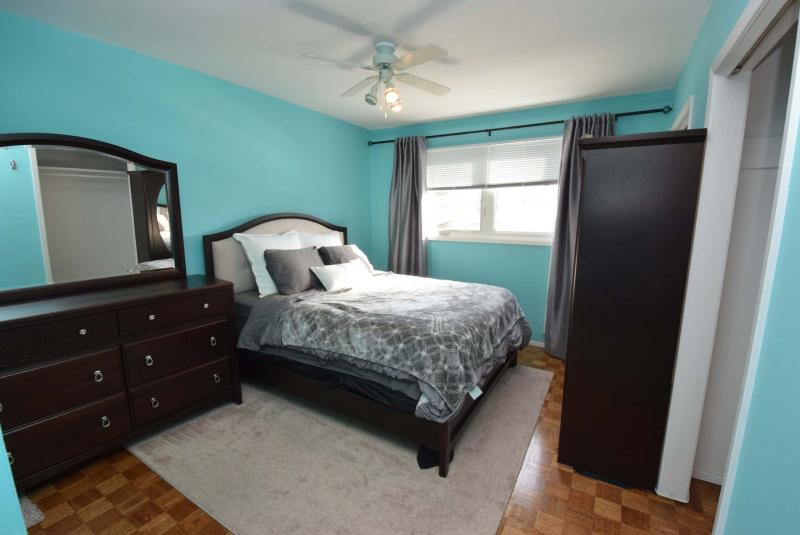 <p>There are four bedrooms upstairs along with the main bath. </p>