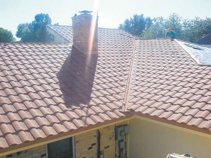 Ask The Inspector New Floor Roofing Materials Offer
