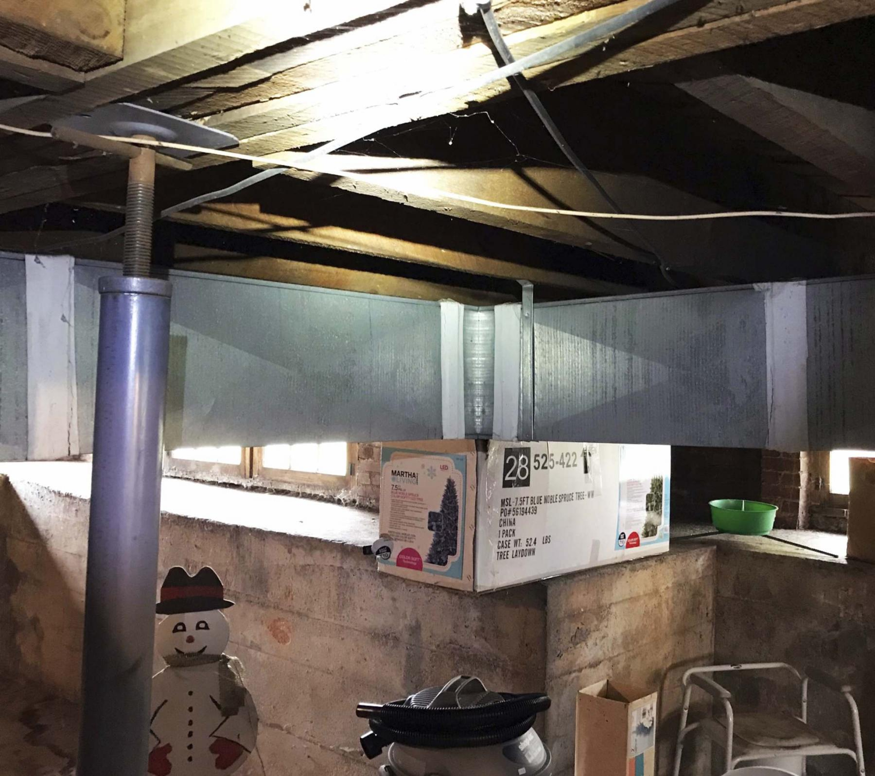 <p>Supplied</p><p>You can either paint over asbestos duct tape or cover it with aluminum duct tape. </p>