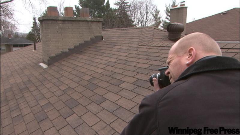Mike Holmes Hitting The Roof Winnipeg Free Press Homes
