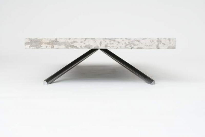 The Tyndall Table, Which Is Causing A Lot Of Buzz In The Industry, Is A  Coffee Table Made From A Slab Of Locally Quarried Tyndall Stone, Weighing  In At ...