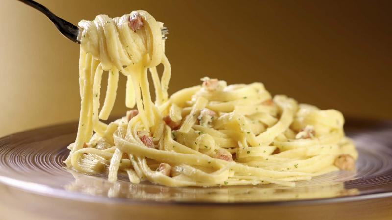 <p>Michael Tercha / TNS files</p><p>Adding salt to boiling water adds flavour to pasta.</p>