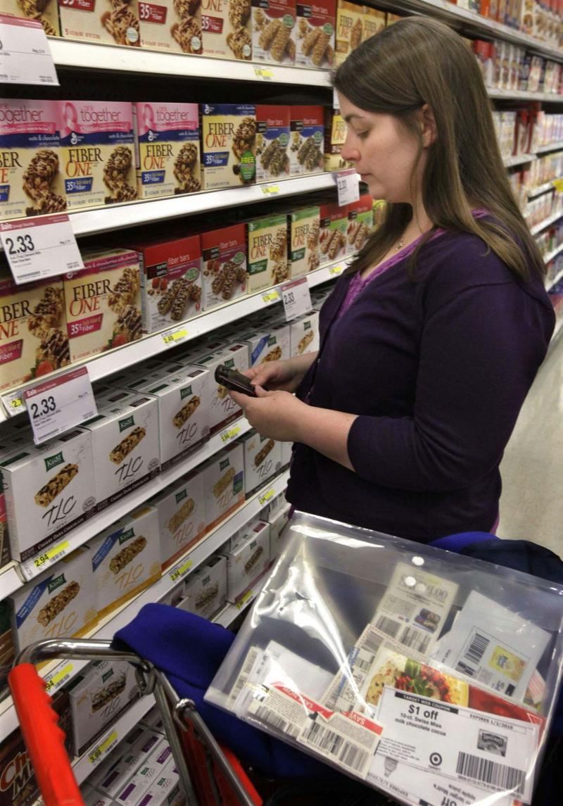 <p>M. Spencer Green / the Associated Press files</p><p>By combining coupons with rebates and online apps, shoppers can get items for pennies on the dollar.</p></p>