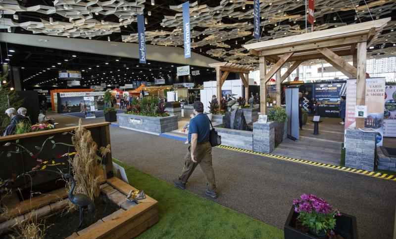 <p>The 2019 Winnipeg Home and Garden Show is set to take place at the RBC Convention Centre from April 4 to 7. (Mike Deal / Free Press files)</p></p>