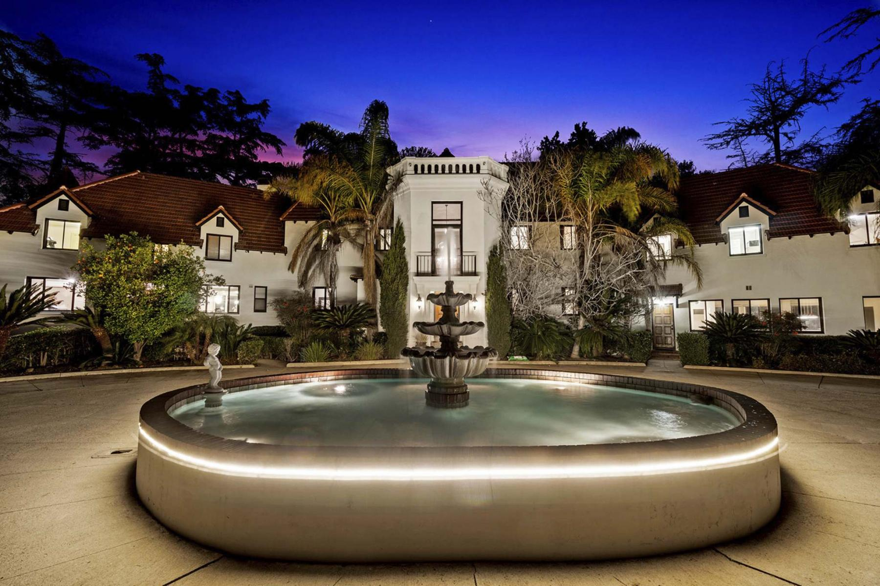 <p>Jeremy Spann / TNS</p><p>Pyrenees Castle, the Alhambra, Calif., home of Phil Spector, is listed for US$4.995 million.</p>