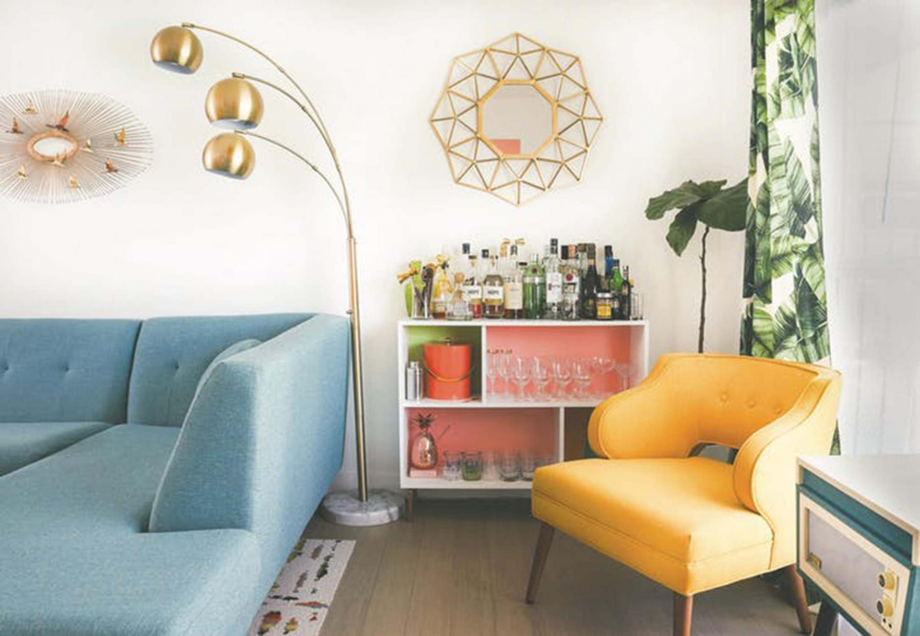 <p>MARNI EPSTEIN-MERVIS / HOUZZ</p><p>Warmer colours and quirkier accessories are expected to remain in vogue througout the early 2020s. </p>
