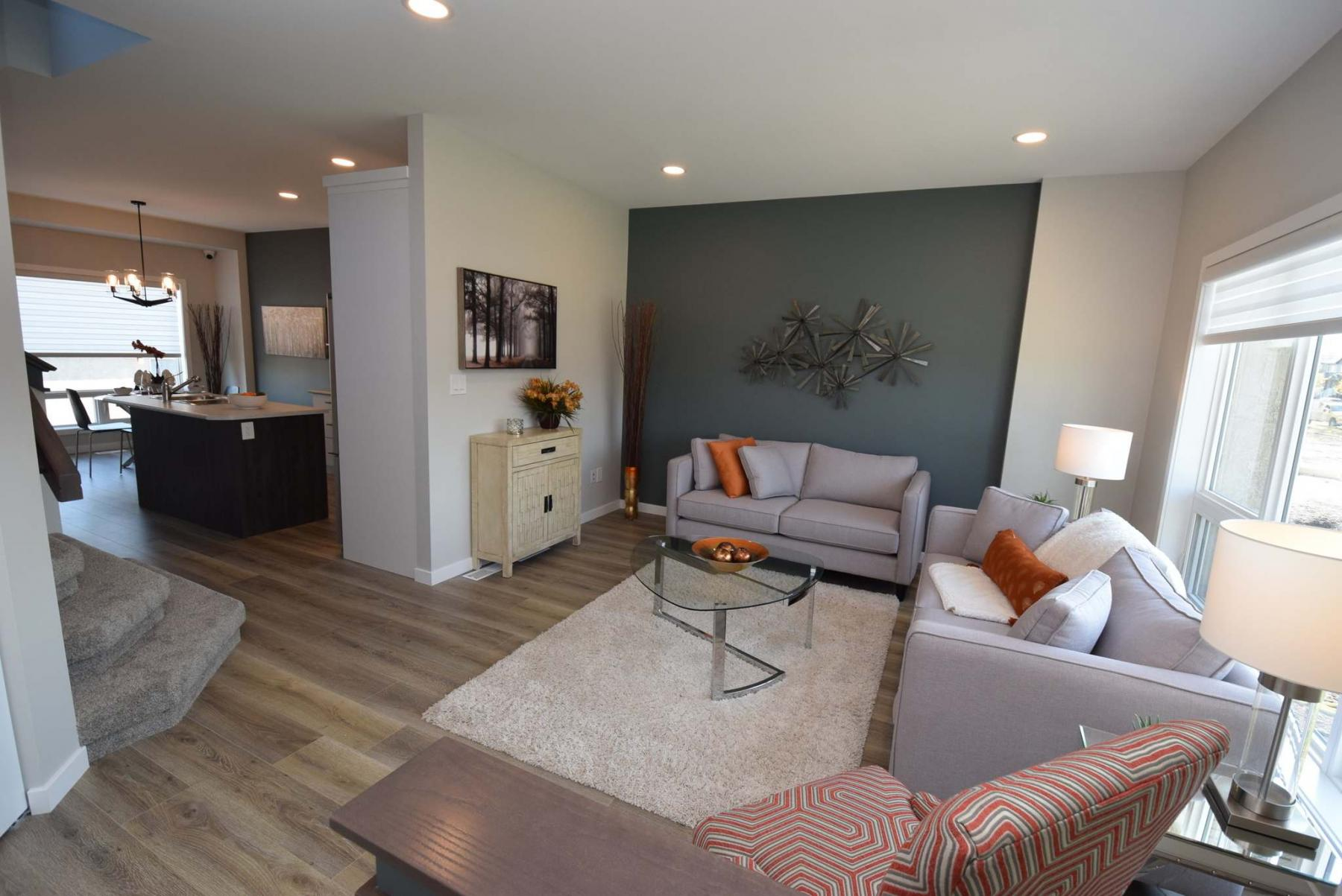 <p>Todd Lewys / Winnipeg Free Press</p><p>The family room offers plenty of space for furniture, with a picture window to provide light.</p>