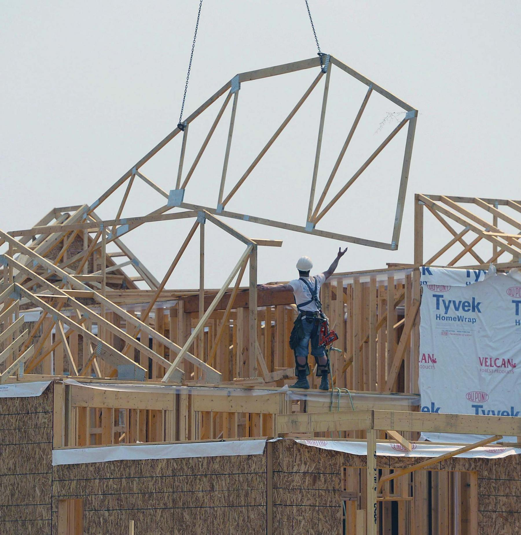 <p>Sean Kilpatrick / The Canadian Press</p><p>Each new home typically has its own unique time frame for completion.</p></p>