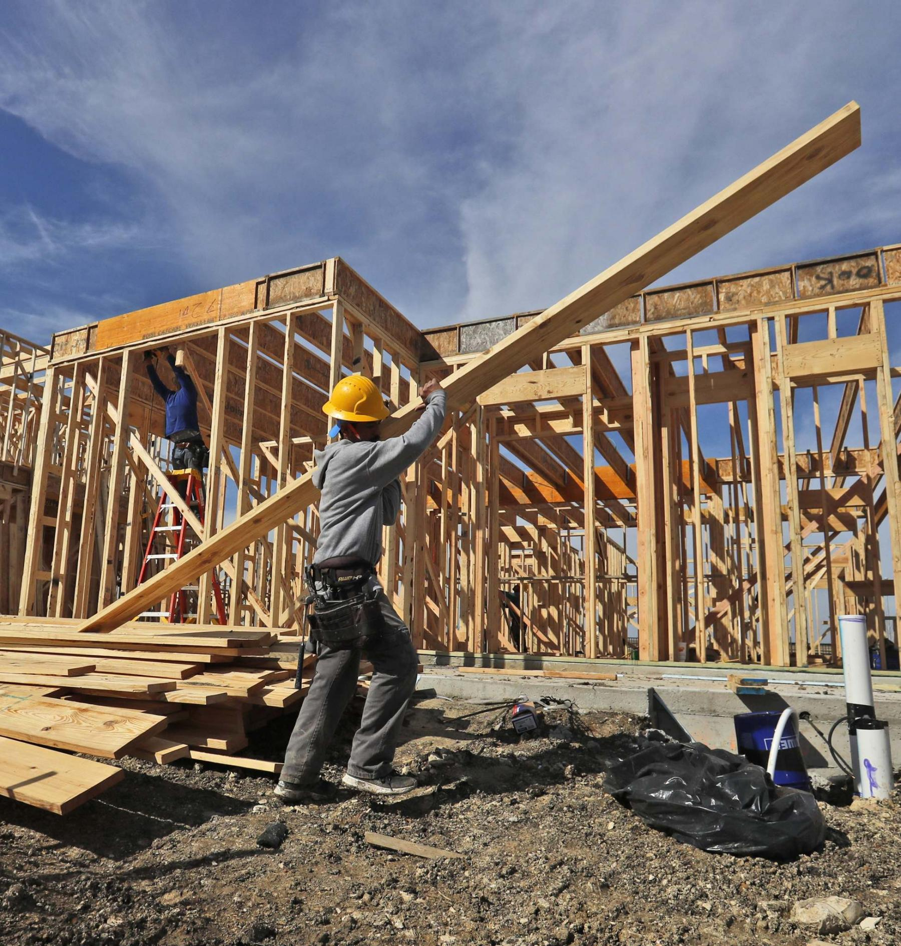 <p>LM Otero / Associated Press files</p><p>Typically, the construction of a new home happens in five phases.</p>