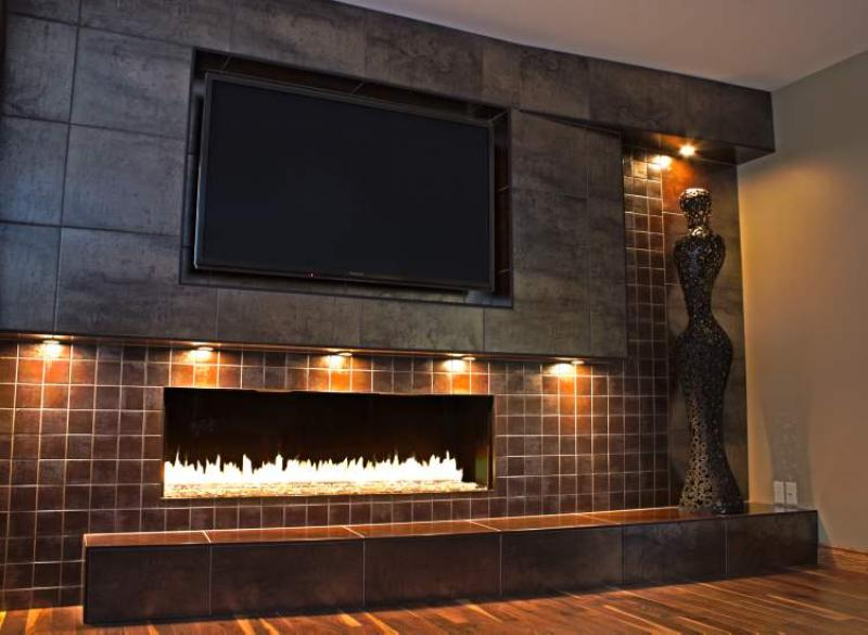 Renovations up for the challenge winnipeg free press homes - How to cover brick fireplace ...