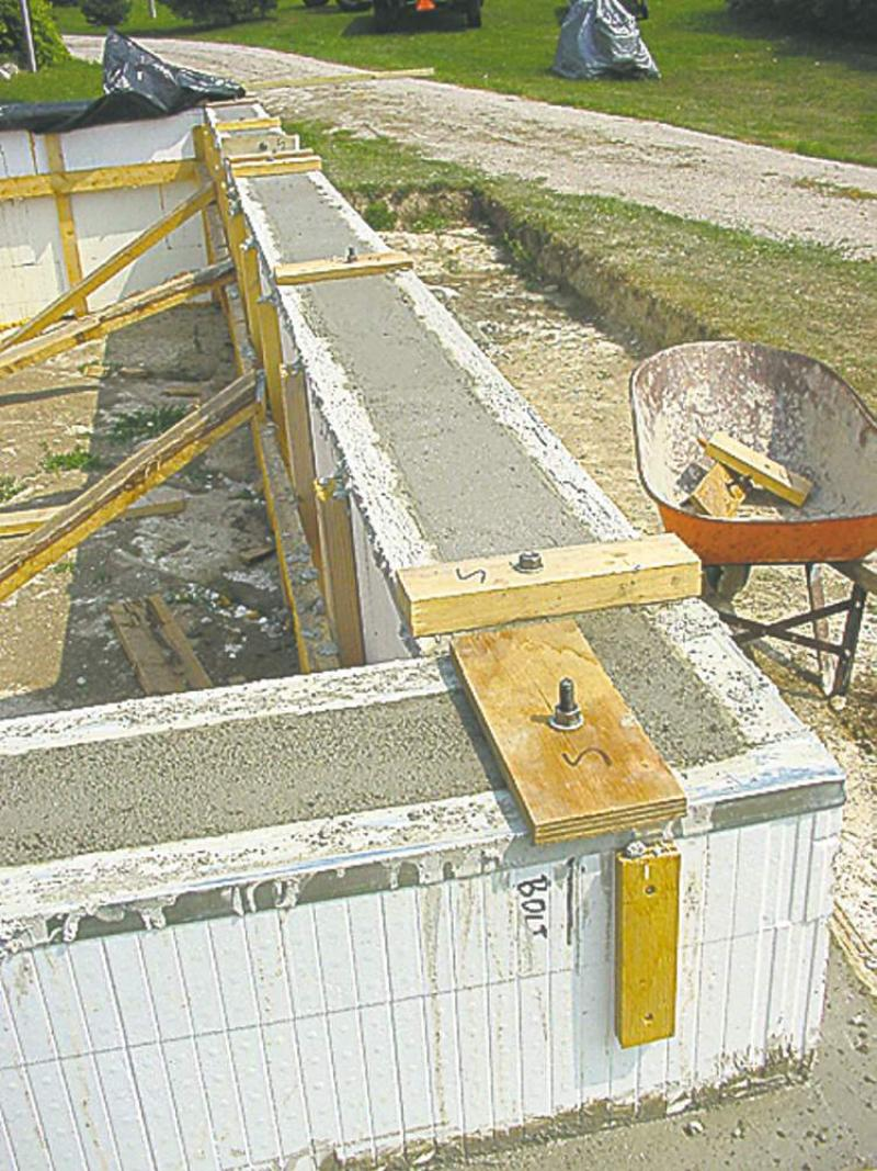 Icf home builders home review for Concrete form homes