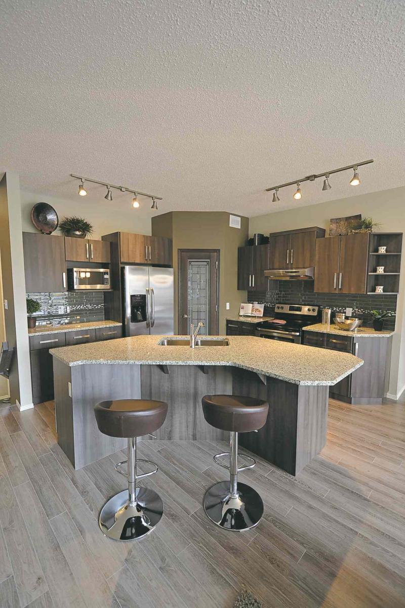 Kitchen Island With Angled Corners