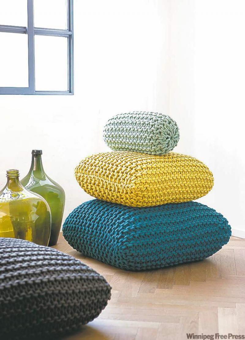 Knit Picking Classic Hobby Influences Home Decor