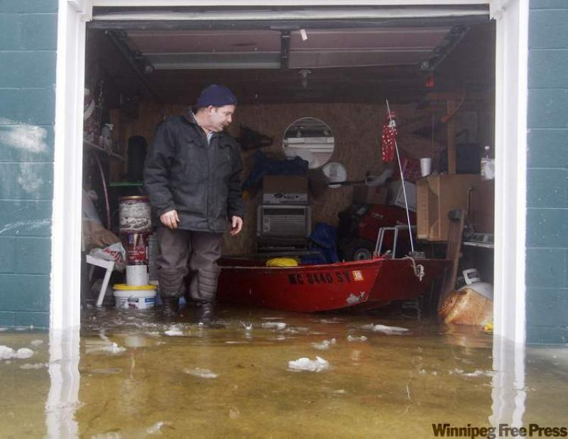 Ask The Inspector Water Seepage Into Garage A Common Concern Winnipeg Free Press Homes