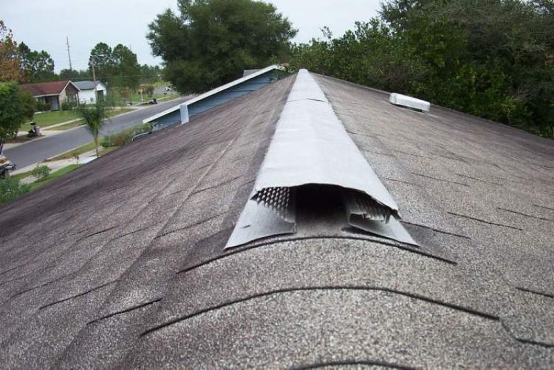Roof Venting Problems : Ask the inspector ridge vents may not add much benefit