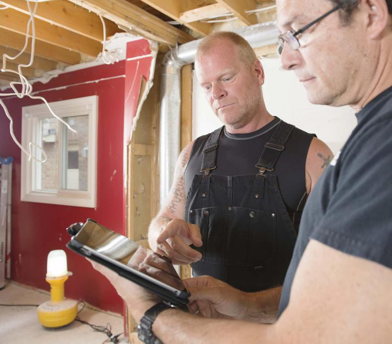 <p>The Holmes Group</p><p>Professional home renovators, such as contractor and television personality Mike Holmes, always carry proper insurance coverage.</p></p>