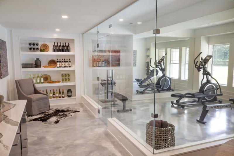<p>John Evans / BIA of Central Ohio Parade of Homes</p><p>This 6,000-square-foot Romanelli & Hughes home in Columbus, Ohio, features deep window wells, a glass-enclosed fitness centre and glass doors in the basement to increase the amount of natural light in the home.</p>