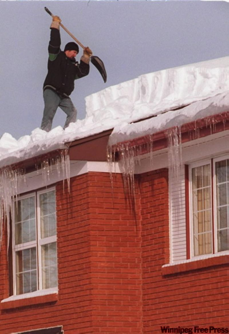 Ask The Inspector Using Heating Cords To Melt Roof Snow A Bad Idea Winnipeg Free Press Homes