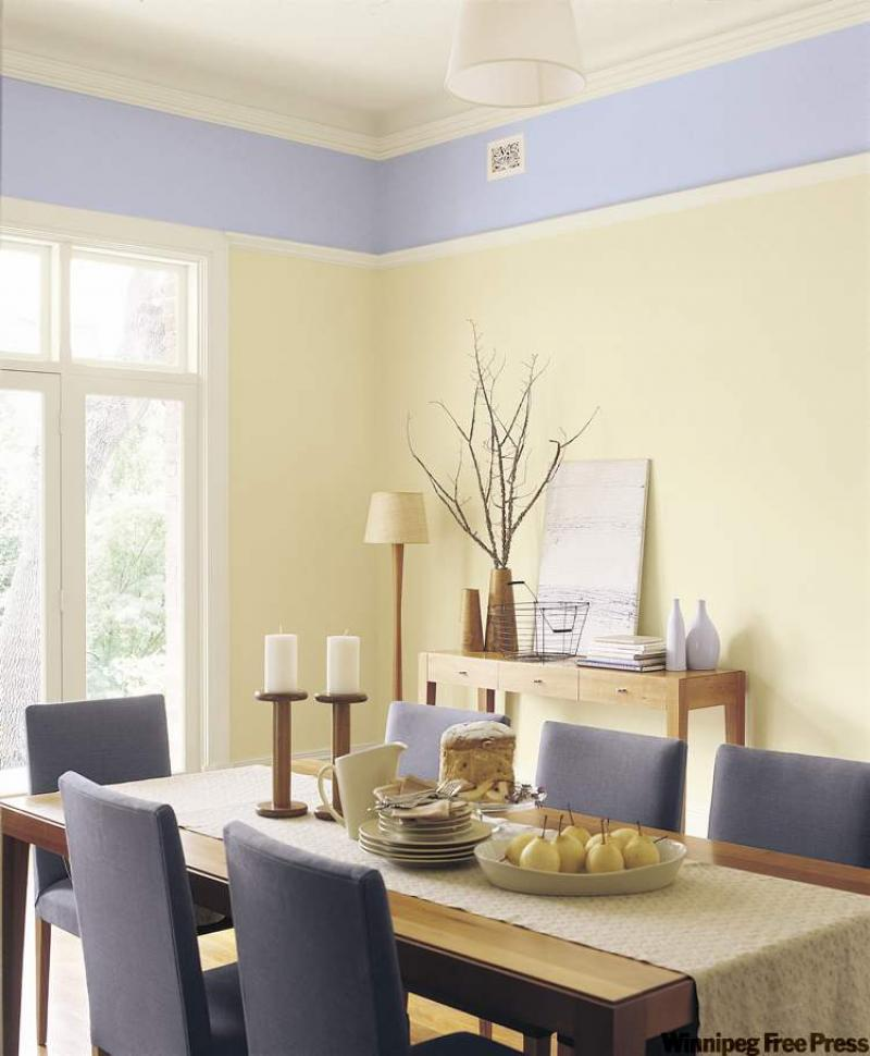 pale yellow dining room. connie oliver a room that says u0027really glad youu0027re hereu0027 winnipeg free press homes pale yellow dining t