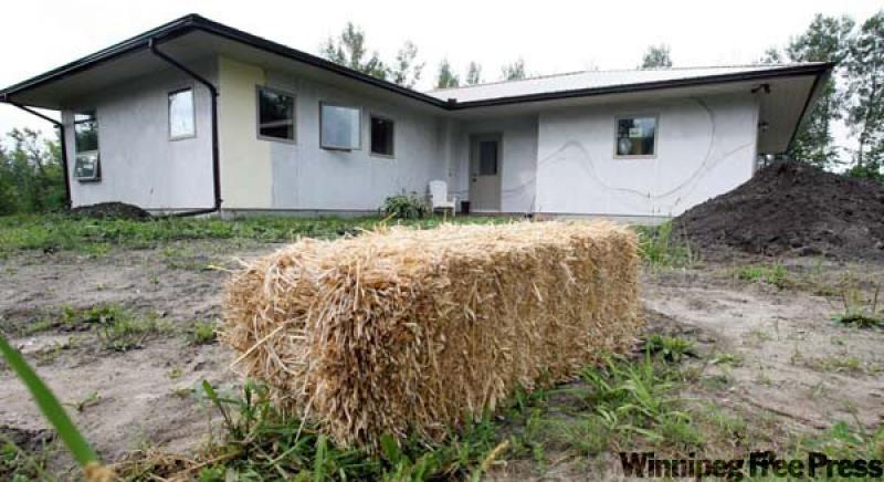 Joist that bale winnipeg free press homes for Straw bale house cost per square foot