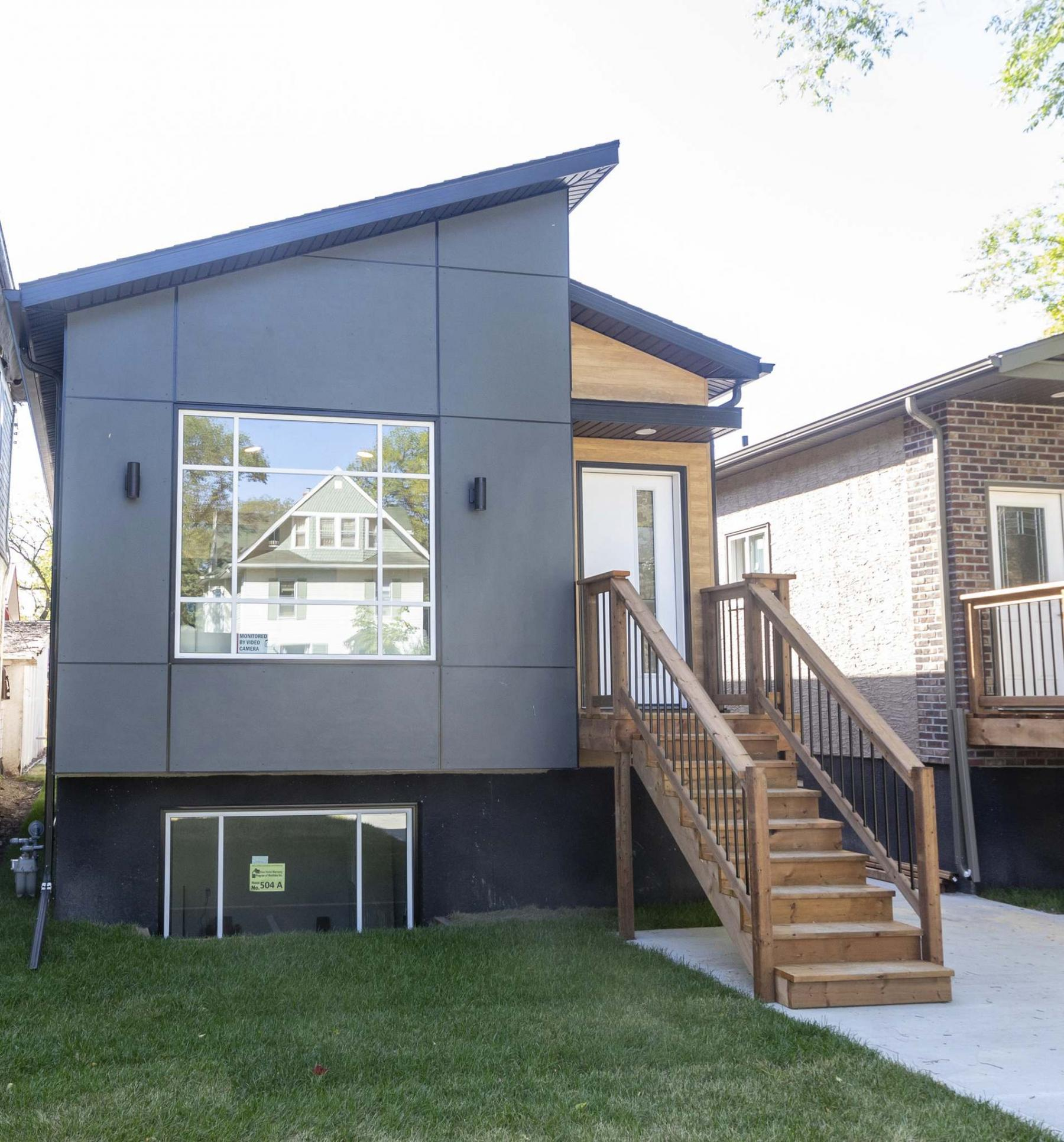 <p>SASHA SEFTER / WINNIPEG FREE PRESS</p><p>The front yard of 504 Beresford Avenue, a new home for sale in Lord Roberts.</p></p></p>