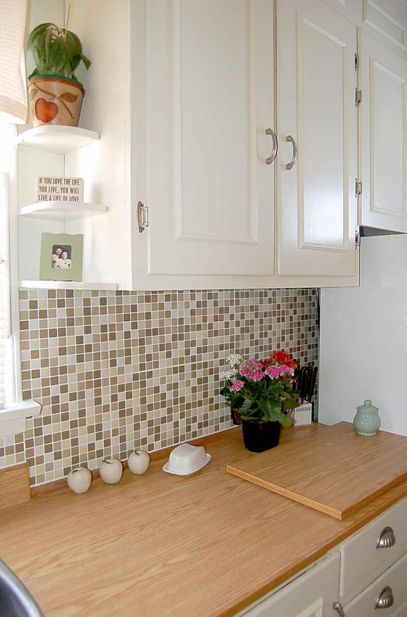kitchen tile countertop connie oliver how to update your kitchen for 300 3249