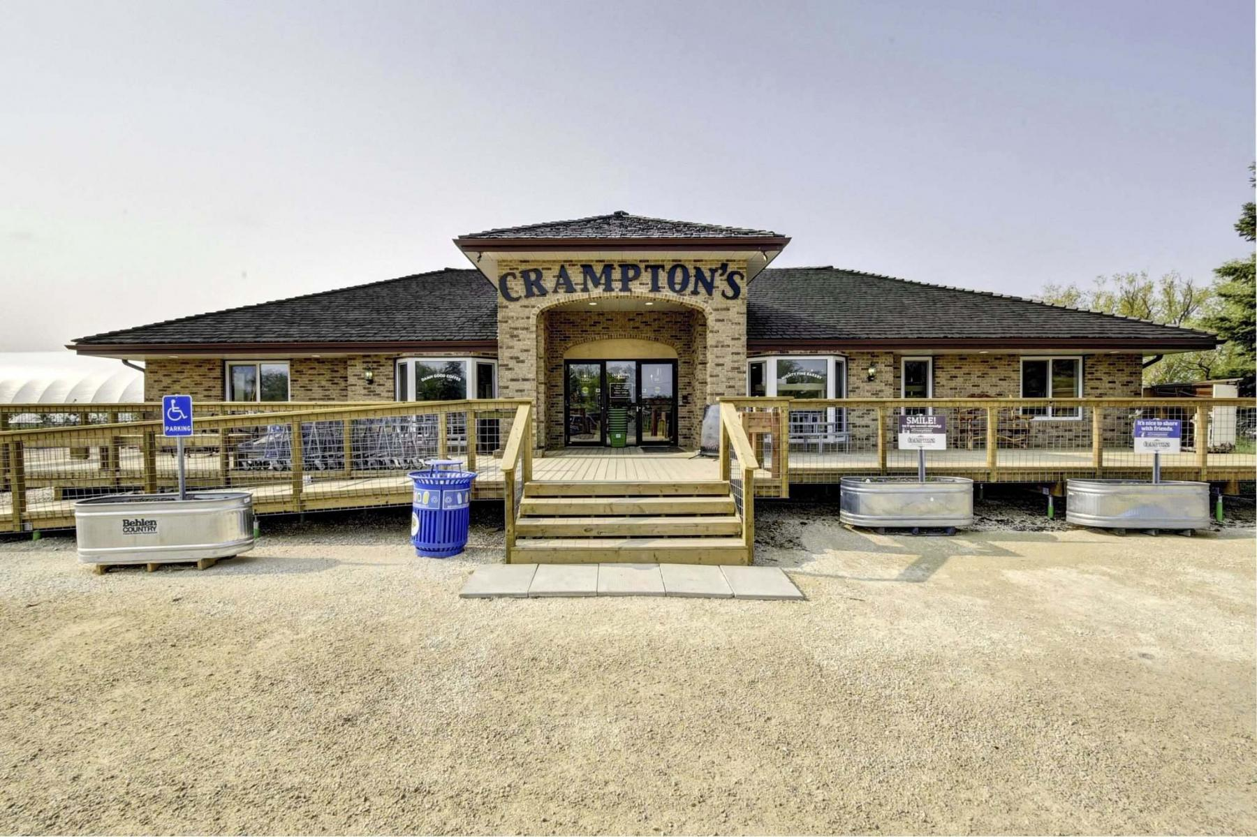 <p>JARRETT DAVIDSON PHOTO</p><p>Crampton's Market, now owned by T & T Seeds, is now open year-round.</p>