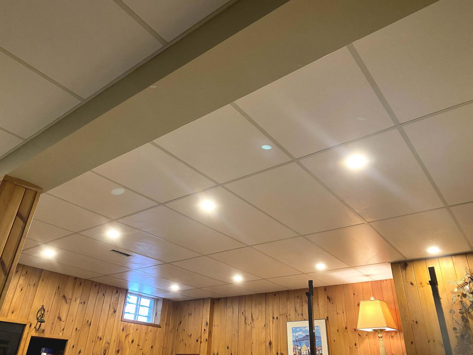 <p>Photos by Marc LaBossiere / Winnipeg Free Press</p><p>The new LED lighting in the rec room is light years brighter than the previous pot lights.</p>