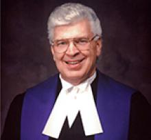 THE HONOURABLE JUSTICE RONALD DEAN BELL (RON) Obituary pic