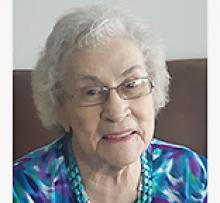 EVELYN MYRTLE ADAMSON Obituary pic
