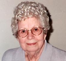GRACE GOSSEN  Obituary pic
