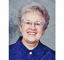 ALICE SYLVIA COUTTS (SVENSON) Obituary pic
