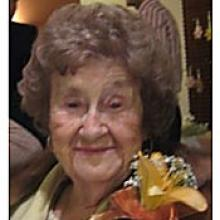 DAISY CLEMENTINE (PAT) BATES  Obituary pic