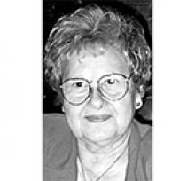 EVELYN MAY JOHNSTON  Obituary pic
