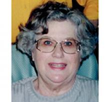 EVELYN GRACE SPEIRS (GAYLARD)  Obituary pic
