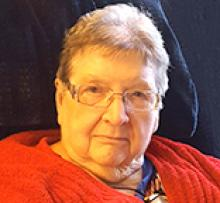 EVELYN MAY LAVALLEE (BUCKNELL) Obituary pic