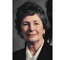 JEANNE GENDRON Obituary pic