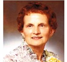 FRANCES BENZELOCK Obituary pic