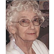 MARY PLOVIE  Obituary pic