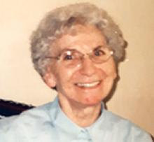 MABEL ALICE MCKNIGHT (FIRTH) Obituary pic
