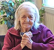 EVELYN PATTYN (née GROUETTE) Obituary pic